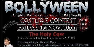 BollyWeen (a Bollywood Halloween night) by NKD Arts  (Friday, 1st Nov)