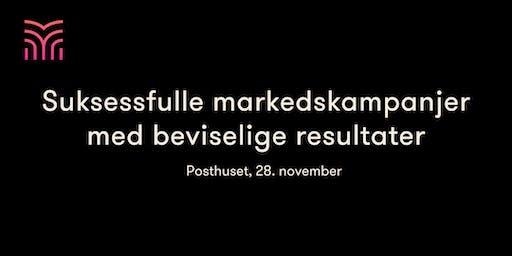 Suksessfulle markedskampanjer med beviselige resultater