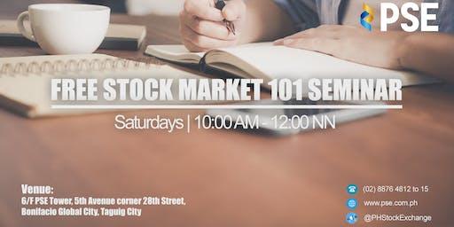 PSE's FREE Stock Market 101 Seminar (Metro Manila)