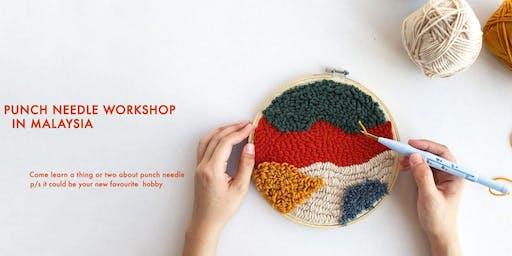 Yarn Painting Punch Needle Workshop