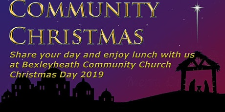 Community Christmas - Christmas Day Lunch tickets