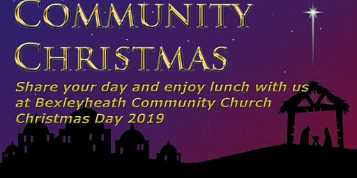Community Christmas - Christmas Day Lunch