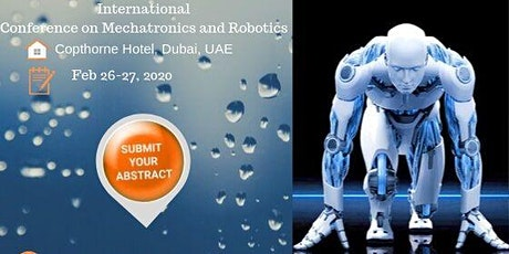 International Conference on Mechatronics and Robotics tickets