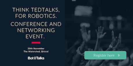 Bot-Talks | Bristol's Robotics Conference for SMEs tickets