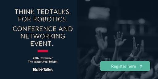 Bot-Talks | Bristol's Robotics Conference for SMEs