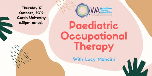OT in Paediatrics: PD event