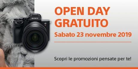 Sony Open Day Gratuito, Scopri le novità Sony! biglietti