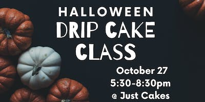 TRICK OR TREAT? HALLOWEEN DRIP CAKE DECORATING WORKSHOP