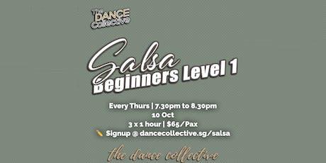 Salsa Level 1 for Beginners (Latin Street Social Dance Course) tickets