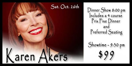 Karen Akers 10/26 tickets