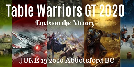 Table Warriors GT 2020 tickets