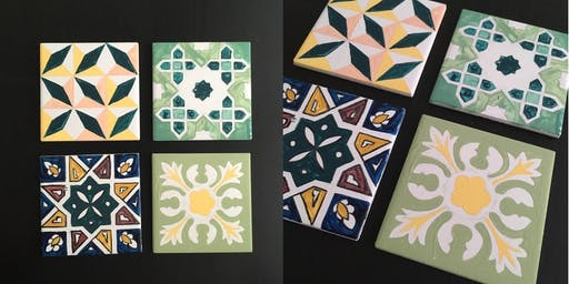 Moroccan Tile Painting Workshop