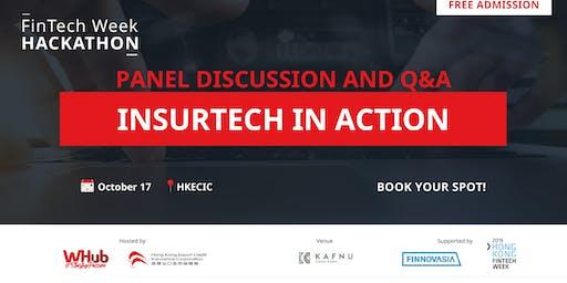 InsurTech in Action    FinTech Week Hackathon 2019