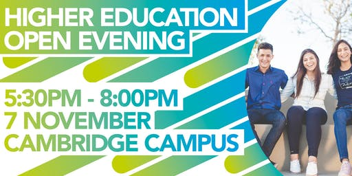 Higher Education and Professional Training Open Evening