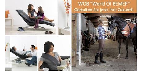 """WOB """"World of BEMER"""" Gestalten Sie jetzt Ihre Zukunft!  Tickets"""