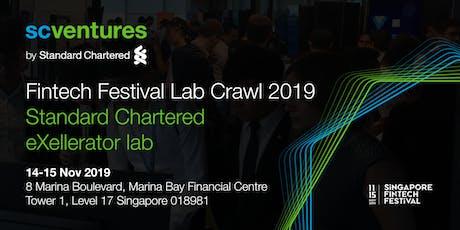 Standard Chartered Fintech Festival Lab Crawl 2019 @ eXellerator tickets