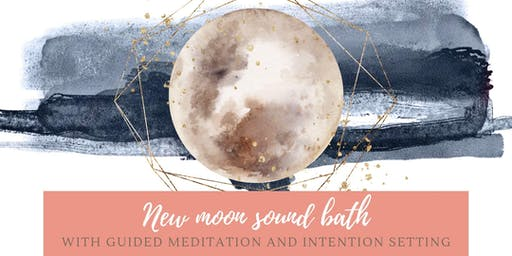 New moon sound bath with guided meditation