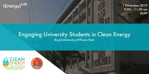 Engaging University Students in Clean Energy - RUPP