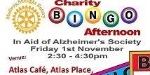 Charity Bingo in aid of Alzheimer's Society