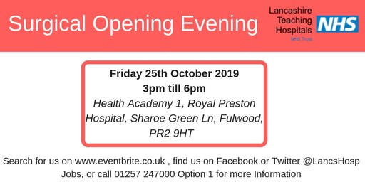 Surgical Opening Evening