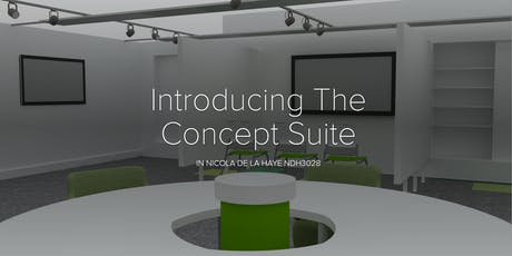 Launch event: The Concept Suite: 15/10 from  17:00-18:30 tickets