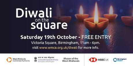 Diwali on the Square 2019 tickets