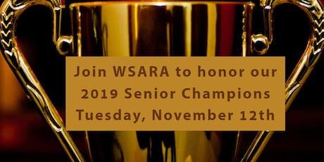 WSARA 2019 Senior Champion Awards Luncheon tickets