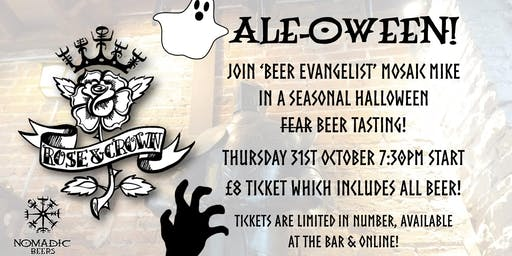 Ale-oween 2019 - Seasonal Beer Tasting