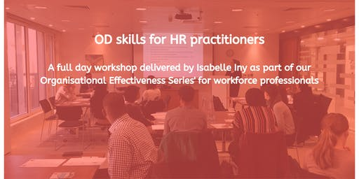 OD skills for HR practitioners