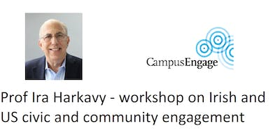 Workshop with Prof Ira Harkavy on Civic and Community Engagement