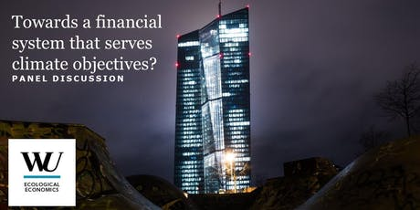 Panel: Towards a financial system that serves climate objectives? Tickets