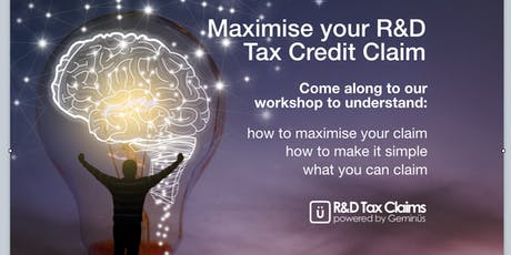 How To Maximise Your R&D Tax Claim tickets