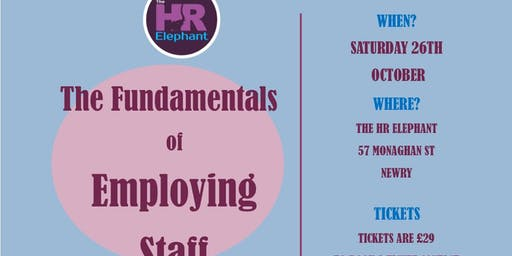 The Fundamentals of Employing Staff