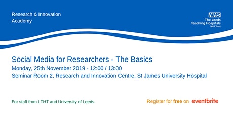 Social Media for Researchers - Advanced Course tickets