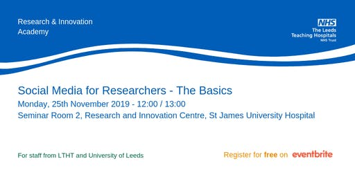 Social Media for Researchers - The Basics