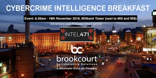 Intel471 and Brookcourt Solutions Cybercrime Intelligence Event
