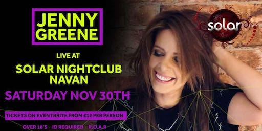 Jenny Greene Live at Solar Niteclub