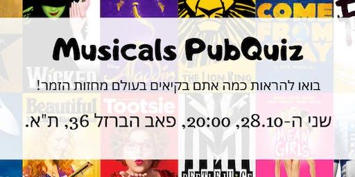 Musicals PubQuiz!