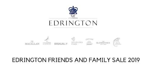Edrington Friends and Family sale 2019