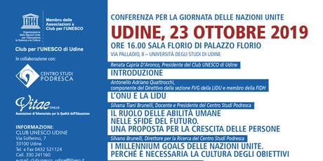 Conferenza per la Giornata delle Nazioni Unite biglietti