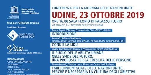 Conferenza per la Giornata delle Nazioni Unite