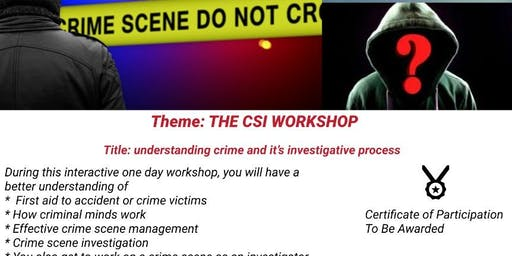 UNDERSTANDING CRIME AND ITS INVESTIGATIVE PROCESSES BY KAIROS FORENSICS