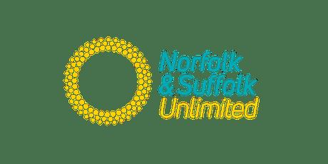 Norfolk & Suffolk Unlimited Ipswich ambassadors breakfast tickets
