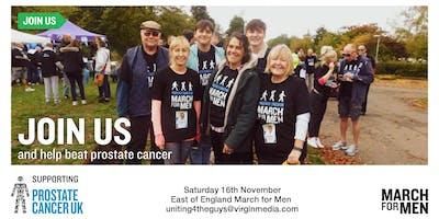 March For Men 2019 - East of England - Prostate Cancer UK