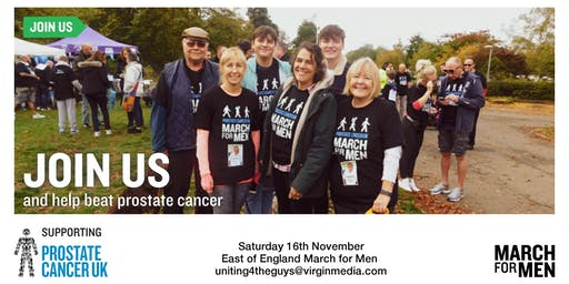 March For Men 2019 - East of England - Prostate Cancer UK