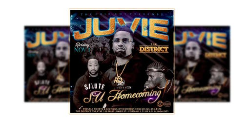 """The S.U. Homecoming Kickoff"" Featuring Juvie The Great!"