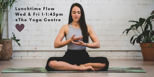 Lunchtime Flow $10 Classes