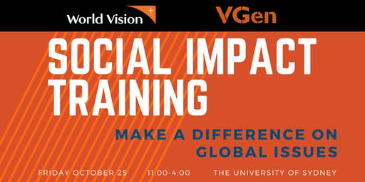 World Vision Presents: Social Impact Training Day