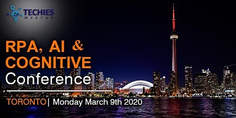 RPA ,AI & Cognitive Conference - Toronto tickets