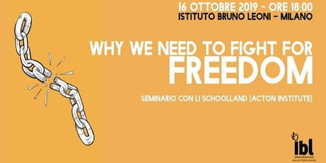 Why We Need To Fight For Freedom biglietti